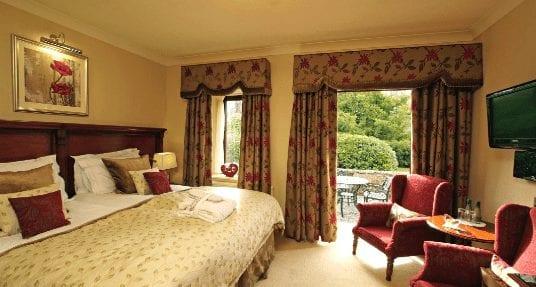 Armathwaite Hall - Spa Bedroom