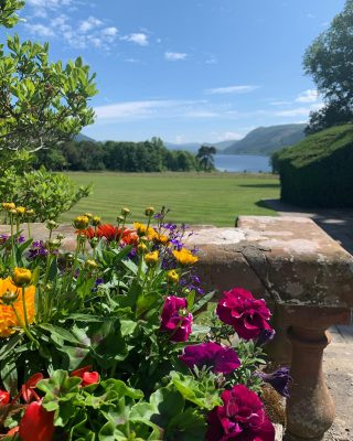 No filter needed today!   Summer in the Lake District is a tonic for the soul and with a world class view from the terrace over to Bassenthwaite Lake and surrounding fells there is nowhere better to be!   What an amazing view to enjoy afternoon tea on the terrace. To book call 017687 76551   #armathwaitehall #afternnontea #view #viewsfordays #bassenthwaitelake #lakedistrict #lakedistrictuk #worldheritagesite #worldheritage
