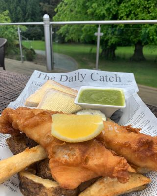 Delicious fare in the open air!  Enjoy alfresco lunches and light bites on the Lime Trees Terrace overlooking the Armathwaite Hall gardens from Monday 12th April.   Reservations are not required, however outdoor dining is weather dependant.  #armathwaitehall #outdoordining #lakedistrict #alfresco #alfrescodining  #lakedistrictuk #fishandchips