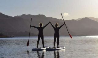 Ready for hours of fun in the Lake District's most picturesque setting?  Join us for a Paddle Boarding session in the sunshine and say yes to adventure this summer. #armathwaitehall #thespaatarmathwaitehall #summerbreak #paddleboarding #summer #lakedistrict  #lakedistrictuk