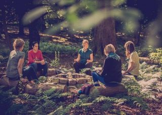 Today we celebrate World Meditation Day and reflect on the power of taking much needed time to slow down and practice mindfulness.  Our Forest Bathing experience provides tranquil guided meditation that helps you unwind.  Discover a new sensory journey today via the link in our bio. #worldmeditationday #armathwaitehall #forestbathing  #wellness #meditation