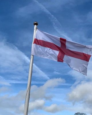 Happy St George's Day! We hope you are celebrating in style.  #stgeorgesday