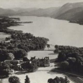 Throwback Thursday and a bird's eye view of Armathwaite Hall and Bassenthwaite Lake.