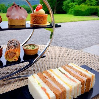 With a mouth-watering selection of sandwiches and cakes and surrounding views of the remarkable countryside, afternoon tea service at Armathwaite Hall Hotel and Spa is like nothing else.  Join us between 12:30pm-5:00pm from just £29.00pp.  Book today via the link in our bio. #armathwaitehall #thespaatarmathwaitehall #afternoonteaweek #afternoontea  #hightea #lakedistrict #spasinthelakedistrict #lakedistrictuk