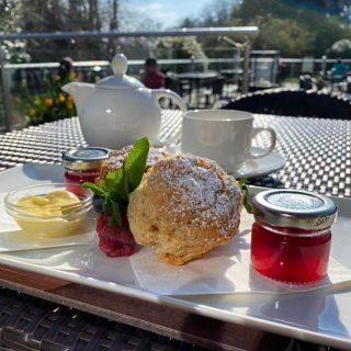 Good news for scone lovers!  We now serve a cream tea on the Lime Trees Terrace which will consist of two scones (plain or fruit) and tea/coffee £9.95 per person   To book call 017687 76551  #armathwaitehall #creamtea #outdoordining #limetreesterrace #lakedistrict #lakedistrictuk #eatkeswick #tea #scones #scone #sconesandjam #jamandcream #sconesofinstagram #sconesandjam #sconesandtea #sconesjamandcream