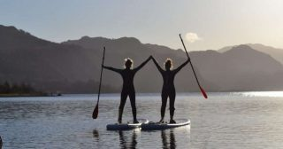 Have you tried your hand at Paddle Boarding?  Stand-up Paddle Boarding can increase core strength, enhance joint stability and is an amazing stress reducer.  Join us in the beautiful Lake District waters and discover the benefits first-hand. Link in bio. #armathwaitehallhotel #thespaatarmathwaitehall #luxuryhotel #lakedistrict #lakedistrictuk #lakedistrictactivities #paddleboarding